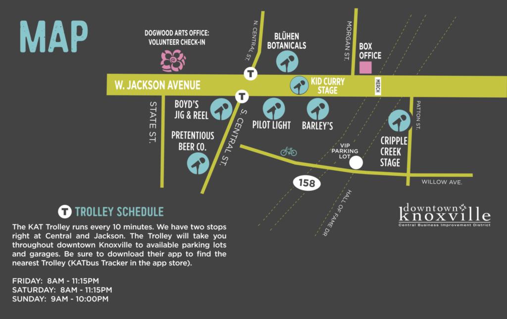 Map & Guide | Rhythm N Blooms Fest Rhythm N Blooms Fest